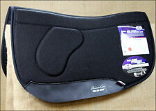 BLACK PROFESSIONAL CHOICE ORTHO BARREL SMX AIR SADDLE PAD HORSE FELT U--BLA