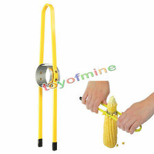 Stainless Steel Corn Cutter Separator Kitchen Tool Remove Kernel from Cob