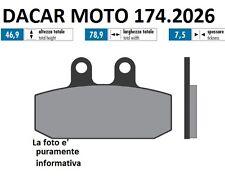 174.2026 PLAQUETTE DE FREIN SINTERED POLINI MALAGUTI : SPIDERMAX 500 - 500 RS