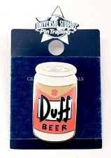 NEW Universal Studios Simpsons Duff Beer Can Trading Pin