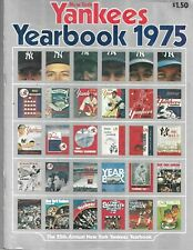 New York Yankees 1975 OFFICIAL Yearbook