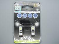 2x Glühlampen 12V T10 W2,1x9,5d Seitenblinker Glassockellampe