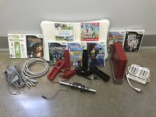 Nintendo Wii Console with Games & Accesories RVL-001