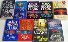Mary Higgins Clark book paperback silent Sunday lot 9