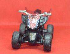 "MARVEL Action Figure Spider-Man Four Wheeler Bike  Go Racer Kids Toy  4"""