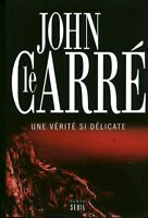 Livre une vérité si délicate John le Carré éditions Seuil 2013 book