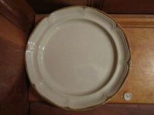 "Vintage International Endura Cafe Stoneware Japan Brown Specks 12"" Platter Plate"