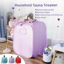 2L Portable Folding Home Steam Sauna Personal SPA Loss Weight Detox Body Slim US
