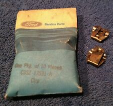 NOS Ford C3SZ-17531-A  Wiper Retainer Clips (2) 61 62 63 64 65 66 F100 Trucks