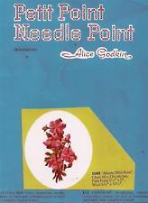 Vintage Alberta Wild Rose Petit-Point Chart Pattern 1148 by Alice Godkin
