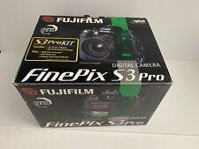 Fujifilm FinePix S Series S3 Pro 12.9 MP Digital SLR Camera - Black (Body Only)