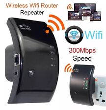 Wireless WiFi Repeater Signal Booster Extender PC Fast Internet Long Range RJ-45