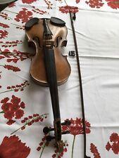 Alte Stainer Geige Violine ca.100 Jahre restaurationsbedürftig mit Bogen