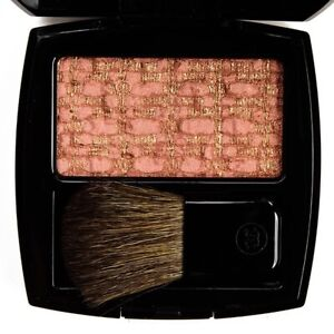 CHANEL LES TISSAGES DE CHANEL 40 TWEED AMBRE Blush Duo Tweed Effect BNIB