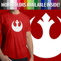 Mens Crew Neck Tee Unisex T-Shirt Gift Star Wars Rebel Alliance Rebellion Jedi