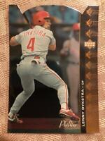 1994 SP Die-cut Lenny Dykstra #135 Philadelphia Phillies Rare SP Insert