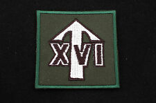 British Army - Parachute Regiment 4th Bat 16 Lincoln TRF Sew on Patch -  No667