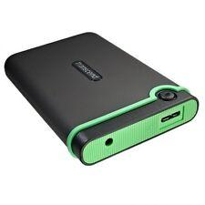 NEW Transcend StoreJet 1TB USB 3.0 Resistance External HDD Hard Drive TS1TSJ25M3