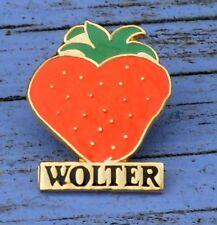 Pin's des années 1990, fraises Wolter