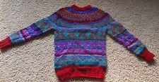 handgestrickter Inka Pullover aus Bolivien