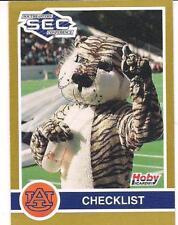 1991 Hoby SEC Auburn University All Time Greats Team Set