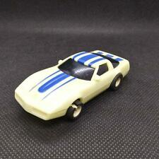 Hot Wheels 1988 Glow In The Dark Corvette Slot Car