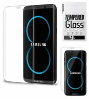 2X For Samsung Galaxy S8 S8Plus HD Clear Full Coverage Screen Protector EN