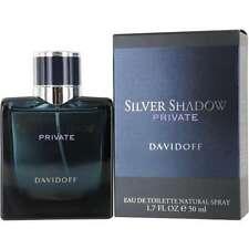 Silver Shadow Private by Davidoff 1.7 oz EDT Mens Spray Cologne 50 ml NIB