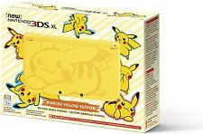 Nintendo New 3DS XL Latest Model Pikachu Yellow Edition Handheld System Console
