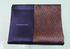 Luxury  Thai silk fabric makes for shirt , sarong, dress  Quantity