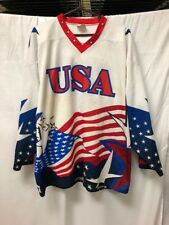 6db5b31d8 VTG ProJoy Sportswear USA Hockey Jersey #80 Mens Sz L