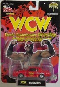 1998 NEW WWE/ECW/WCW 1/64th SCALE DIE-CAST NITRO-STREETROD - BOOKER T [MOC]