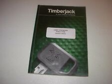 Timberjack John Deere 1410D Log Forwarder Operator's Manual , FRENCH version