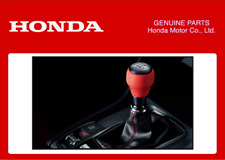 Genuine Honda Gear Shift perilla Negro/Rojo JDM módulo Civic Tipo R FK8 2017+