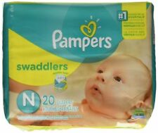 Pampers Swaddlers Newborn 120 Diapers (6 packs of 20) FREE SHIPPING!!!!!!!!!!!!!