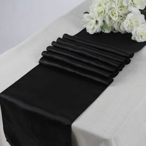 """10 Satin Table Runners Sash Wedding Party Banquet Decoration 12""""X108"""" -Free Ship"""