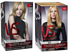 VIDAL SASSOON Salonist PERMANENT Hair Colour 8/0 or 10/0 - Choose col + qty