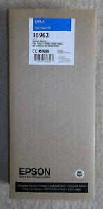 T5962 Cyan Epson Tinte Stylus Pro C13T596200 7700 7890 7900 9700 9890 9900
