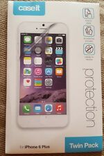 Case It iPhone 6 Plus Clear Screen Protector Twin Pack