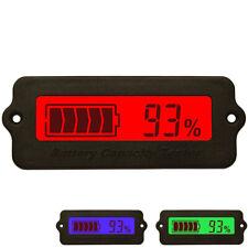 Indicateur Testeur Capacité Batterie Plomb-Acide Lithium 12V-48V DC LCD Afficher