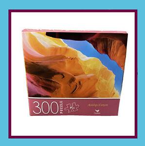 "Cardinal- 300Pc Puzzle - Antelope Canyon - 14"" x 11"" Finished Size"