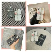 Soft Chain Heart Case Cover For iPhone 11 12 MINI PRO MAX 8 XS MAX XR SE 2020