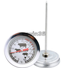 Stainless Steel Instant Read Probe Thermometer BBQ Food Cooking Meat Gauge UK
