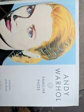 "Andy Warhol ""Familiar Faces"" Portfolio 6 Works Neues Publishing 1989 RARE."