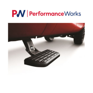 AMP 75400-01A Retractable Truck Bed Side Step 99-13 Silverado/Sierra, All Beds
