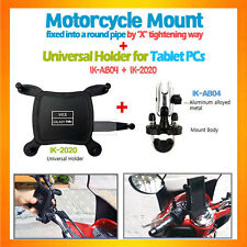U-bolt handle bar bike motorcycle mount + tablet holder,Galaxy Tab 7,similar one