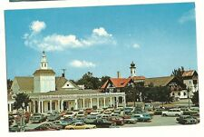 Zehnder's Hotel Bavarian Inn Frankenmuth MI Chicken Dinners Post Card Old Cars