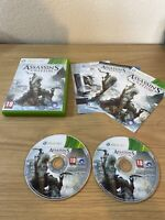 Assassin's Creed III (Microsoft Xbox 360, 2012) Game
