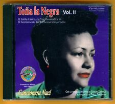 Tona La Negra - Vol II - Cancionera Naci - 1996 - NEW CD