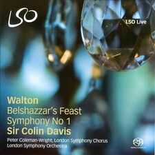 WALTON: BELSHAZZAR'S FEAST; SYMPHONY NO. 1 (NEW CD)